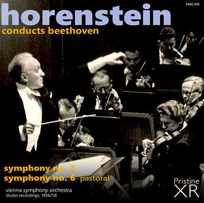 BEETHOVEN: Symphony No. 5 and No. 6 – Vienna Symphony Orchestra/ Jascha Horenstein – Pristine