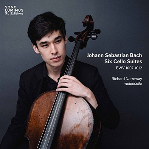 Johann Sebastian BACH: Six cello suites – Richard Narroway, cello — Sono Luminus