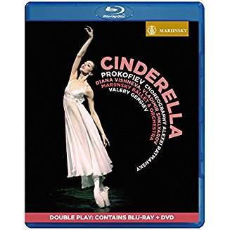 Serge PROKOFIEV: Cinderella, Blu-ray & DVD (2017)