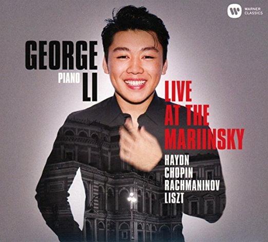 George Li Live = HAYDN: Piano Sonata in B Minor; CHOPIN: Piano Sonata No. 2; RACHMANINOV: Variations on a Theme of Corelli; LISZT: Consolation No. 3, Hungarian Rhapsody No. 2 – George Li – Warner Classics
