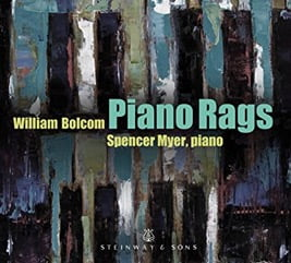 Spencer Myer – William Bolcom Piano Rags – Steinway And Sons