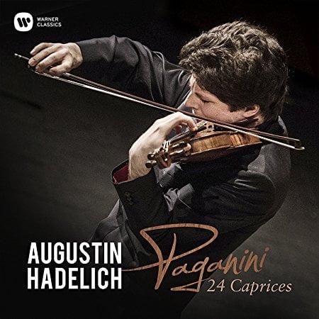 PAGANINI: 24 Caprices, Op. 1 – Augustin Hadelich, violin – Warner Classics