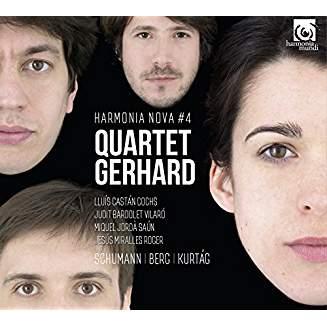 ROBERT SCHUMANN: String Quartet No. 3; ALBAN BERG: Lyric Suite; GYORGY KURTAG: Officium Breve – Quartet Gerhard– Harmonia Nova
