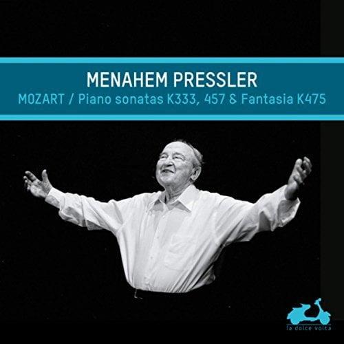 MOZART: Fantasie in c minor; Sonata No. 14 and No. 13 – Menahem Pressler, piano – La Dolce Volta