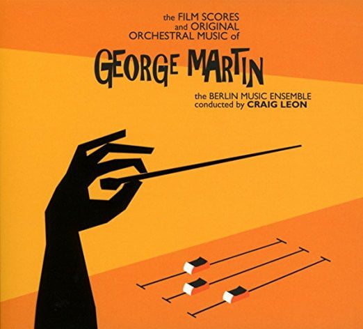 The Film Scores and Original Orchestral Music of George Martin – Berlin Music Ensemble conducted by Craig Leon  – Atlas Realisations