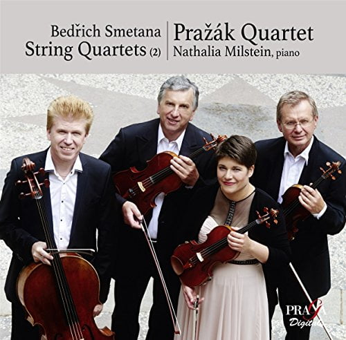SMETANA: String Quartet No. 1 & No. 2; Piano Trio – Prazak Quartet/ Nathalia Milstein, piano – Praga Digitals