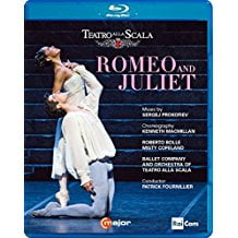 PROKOFIEV: Romeo and Juliet – Milan La Scala Ballet/Orchestra/Patrick Fournillier – Blu-ray