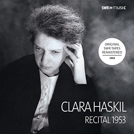 Clara Haskil Complete Recital Ludwigsburg 1953 = Piano Works by BACH; SCARLATTI; BEETHOVEN; SCHUMANN; DEBUSSY; RAVEL – SWR Music