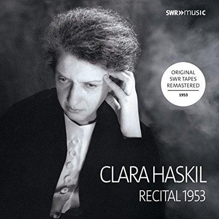 Clara Haskil Complete Recital Ludwigsburg 1953 = Piano Works by BACH; SCARLATTI; BEETHOVEN; SCHUMANN; DEBUSSY; RAVEL – SWR Music