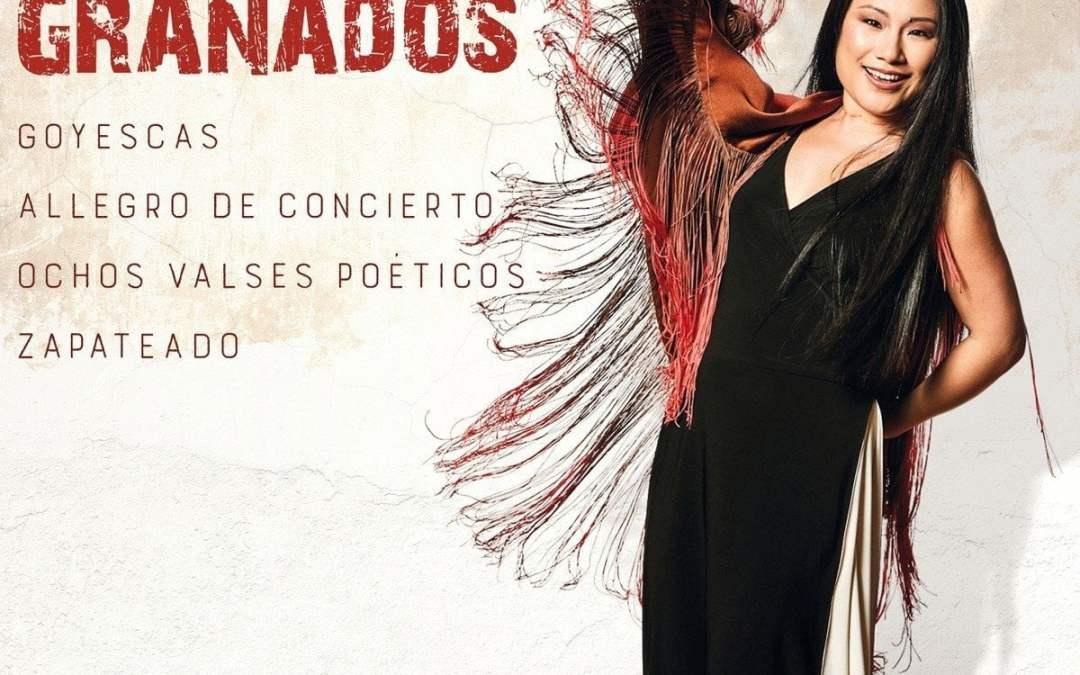 GRANADOS: Goyescas; Zapateado; Ochos Valses Poeticos; Allegro de Concierto – Xiayin Wang, piano – Chandos