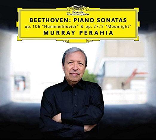 "BEETHOVEN: Piano Sonatas ""Hammerklavier"" & ""Moonlight"" – Murray Perahia, piano – DGG"