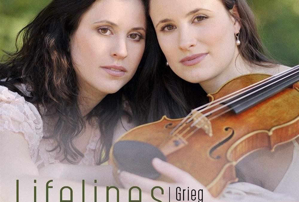 """Lifelines"" = GRIEG: Violin Sonata No. 1; LISZT: Two Elegies; FRANCK: Violin Sonata– Lea Birringer, violin / Esther Birringer, piano – Rubicon"