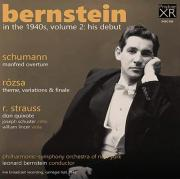 Leonard Bernstein in the 1940s, Volume 2, Album Cover