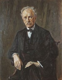 Portrait of Richard Strauss by Max Liebermann