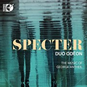 Composer Antheil, Duo Odeon performing Specter, new album