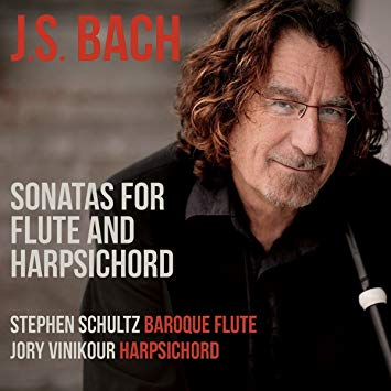 J.S. Bach: Sonatas for Flute and Harpsichord – Stephen Schultz, Jory Vinikour – Music and Arts