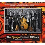 The Django Reinhardt AllStars -- Album Cover, Attitude Manouche