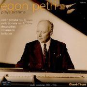Egon Petri plays Brahms