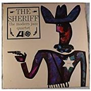"Modern Jazz Quartet, ""The Sheriff"" Album Cover"