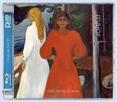 Oslo Quartet, Minor-Major Album Cover