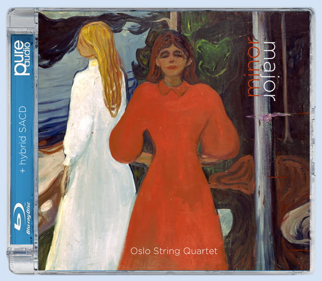 Minor Major – Oslo String Quartet – Beethoven: String Quartet No. 11; Schubert: String Quartet No. 15 – 2L