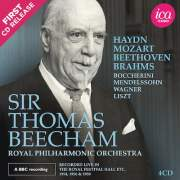 Sir Thomas Beecham, Royal Philharmonic Orchestra, Live Recordings Album Cover