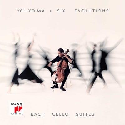 "Johann Sebastian BACH. The suites for solo cello ""Six Evolutions""—Yo-Yo Ma, cello—Sony"
