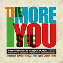 Bootsie Barnes & Larry McKenna – The More I See You – CellarLive