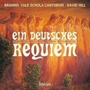 Brahms Requiem, David Hill, Album Cover
