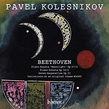 """BEETHOVEN: """"Moonlight Sonata"""" – Pavel Kolesnikov – Hyperion"""