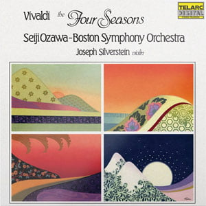 Vivaldi – The Four Seasons – Seiji Ozawa/Boston Symphony Orchestra – Telarc Records