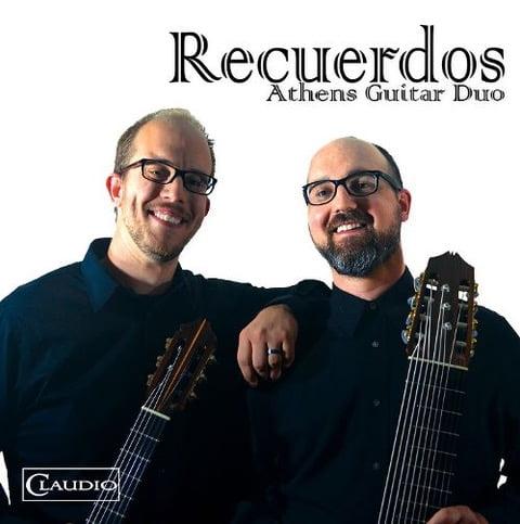 Athens Guitar Duo – Recuerdos: music by Piazzolla, de Falla, Möller, Brookshire – Claudio Records