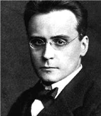Portrait Anton Webern
