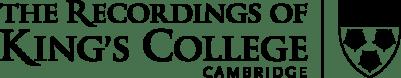 Logo Recordings of King's College, Cambridge