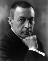 Portrait Serbei Rachmaninoff