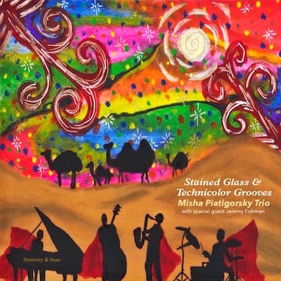 Misha Piatigorsky Trio – Stained Glass and Technicolor Grooves – Natural Drummer