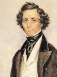Felix Mendelssohn, by James Warren Childe