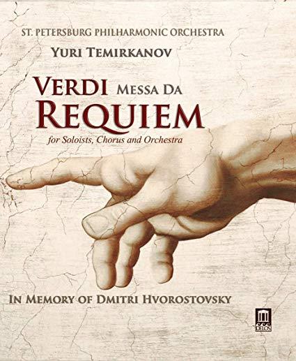 Verdi: Messa da Requiem (In Memory of Dmitri Hvorostovsky) – St. Petersburg Philharmonic Orchestra/ Yuri Temirkinov – Delos