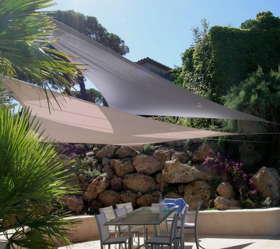 voile d ombrage toile tendue terrasse