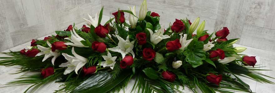 Profitez des fleurs pas chres pour un deuil