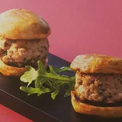 Hamburger de bourret d'herbe (4 personnes)