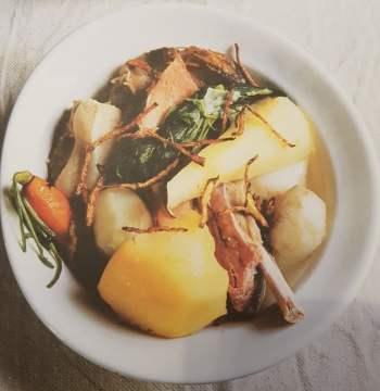 Pot-au-feu de cochon aux légumes oubliés (6 personnes)
