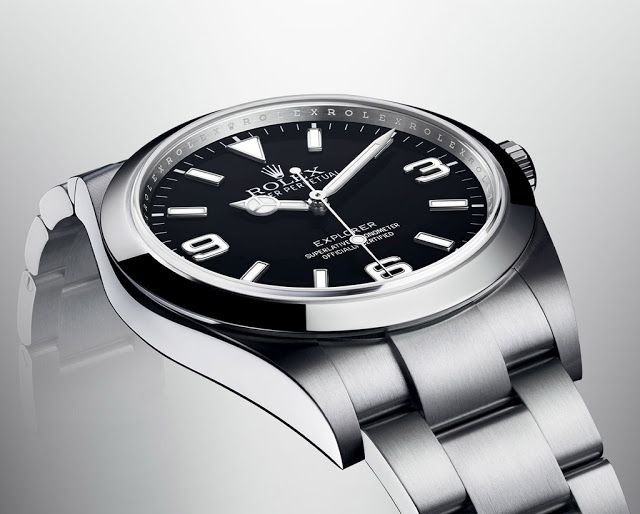 Side of Rolex Oyster Perpetual Explorer Ref. 214270 - Swiss AP Watches Blog