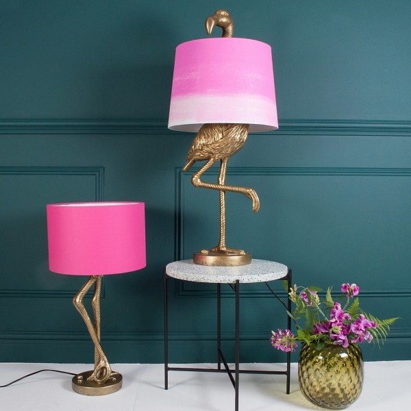 Pink Flamingo Table Lamp