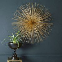 Gold Sunburst Wall Art | Audenza