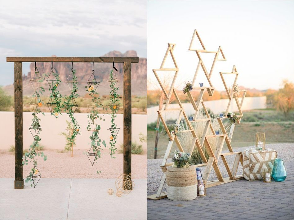 Boho Ceremony Arch Ideas | Audere Events | Lake Tahoe Wedding + Event Planner