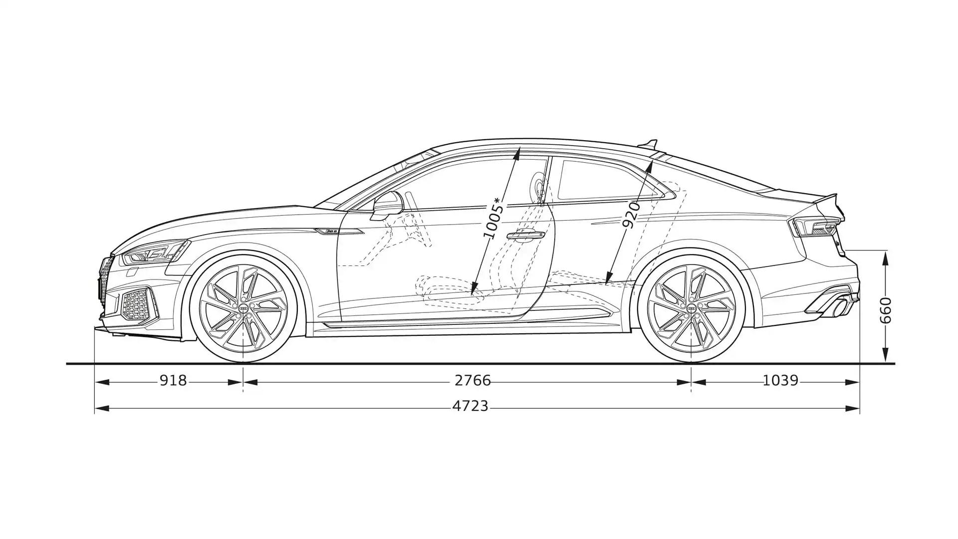 Audi Rs5 Dimensions Gt Audi Rs5 Gt Audi A5 Gt Audi