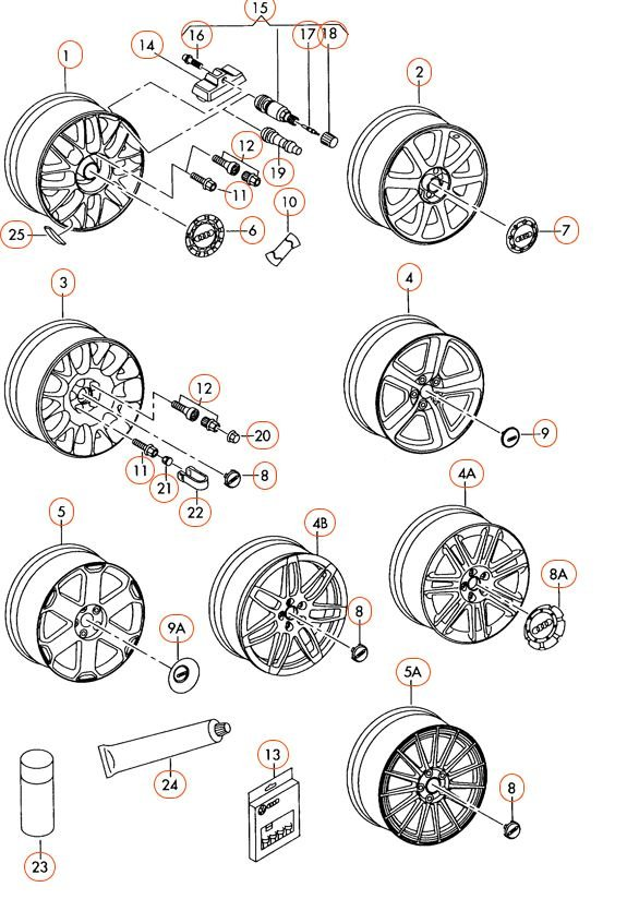 LOOK HERE for information on wheel sizes and offsets