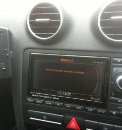 factory fitted aux input not working audi sport net audi a4 radio wiring diagram at cita [ 1120 x 837 Pixel ]