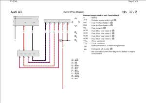 Pin Out  Wiring Diagram (Rear LED cluster) | AudiSport
